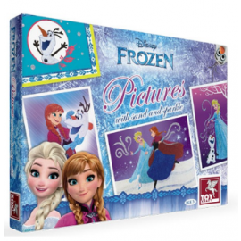 Toy Kraft Disney Frozen- Pictures With Sand & Sparkle