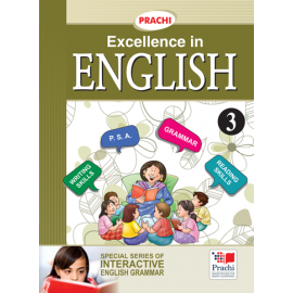 Prachi English Grammar Excellence In English for Class 3