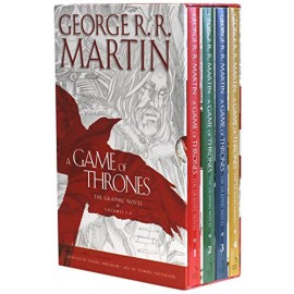 A Game of Thrones The Graphic Novel Boxed Set Volumes 1-4 by George R.R. Martin
