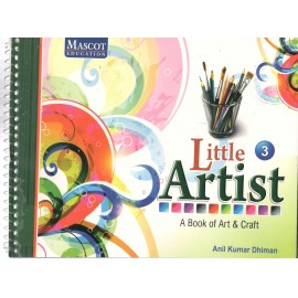 Mascot Little Artist - A Book of Art & Craft Book 3
