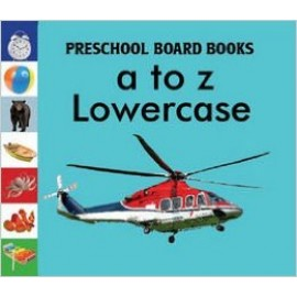 A To Z Lower Case Board Book by Pegasus Books