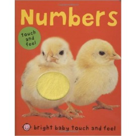 Bright Baby Touch & Feel Numbers Board Book by Priddy Books