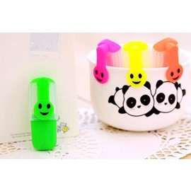 Smiley Marker Highlighters (Set of 5)