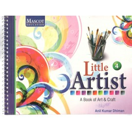 Mascot Little Artist - A Book of Art & Craft Book 4