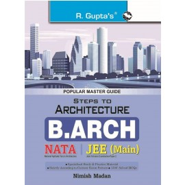 RPH Steps to Architecture (NATA) B. Arch Entrance Exam Guide (R-1752) - 2018