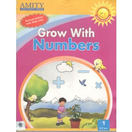 Amity Grow with Numbers Course Book 1 by Madhu Singh Sirohi