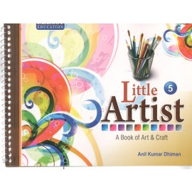 Mascot Little Artist - A Book of Art & Craft Book 5