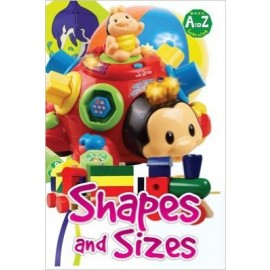 A To Z Learning Shapes & Sizes by Pegasus Books