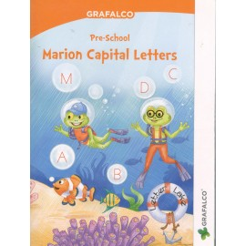 Grafalco Pre-School Marion Capital Letters (N0051)