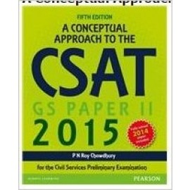 Pearson Conceptual Approach To The Csat Paper-II (5th Edition)