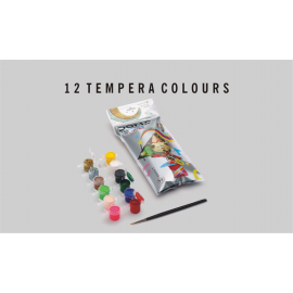 Doms Tempera Colour 12 Shades