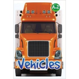 A To Z Learning Vehicles by Pegasus Books