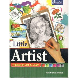 Mascot Little Artist - A Book of Art & Craft Book 8