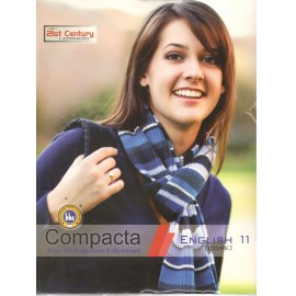 Compacta Super Test Assignments & Worksheets English Core for Class 11 set of two books