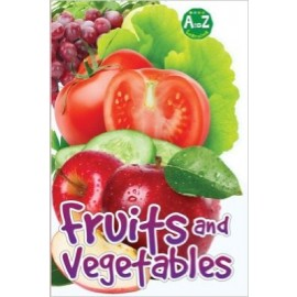 A To Z Learning Fruits & Vegetables by Pegasus Books