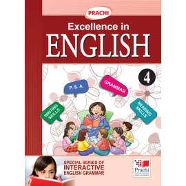 Prachi English Grammar Excellence In English for Class 4