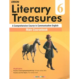 Orion Literary Treasures Main Coursebook of English for Class 6 by Deepa Wadhwa