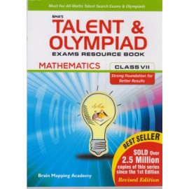 BMA's Talent & Olympiad Exams Resource Book Maths for Class 7