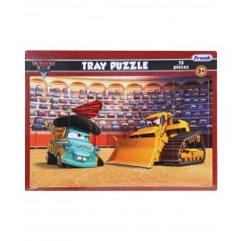 Frank Disney Cars Toon Tray Puzzle (15 Pieces)