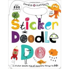 Sticker Doodle Do (Doodle Monsters) with Over 200 Stickers by Priddy Books