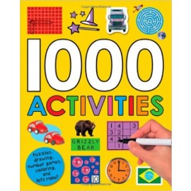 1000 Activities (Activity Book with Stickers) by Priddy Books