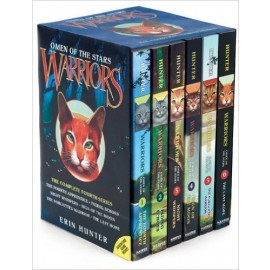 Warriors: Omen of the Stars Box Set: Volumes 1 to 6 by Erin Hunter