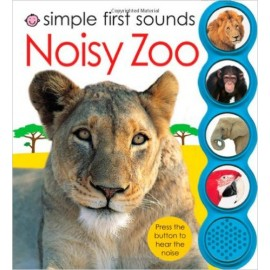 Simple First Sounds Noisy Zoo Board Book by Priddy Books