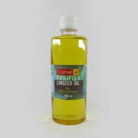 Camlin Kokuyo Purified Linseed Oil (500 ml)