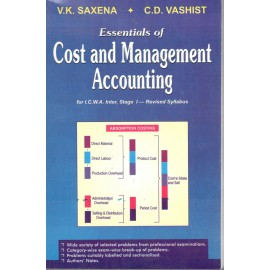 VK Saxena Essentials of Cost & Management Accounting by Sultan Chand & Sons