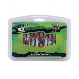 Ben 10 Jumbo Crayons (Pack of 12)