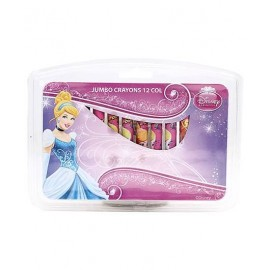 Disney Princess Jumbo Crayons Set (Pack of 12)