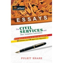 Arihant Essays for Civil Services and Other Competitive Examinations