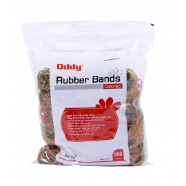 "Oddy Colored Rubber Bands 1""- 500 Gms."