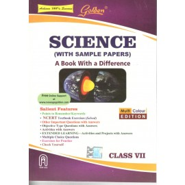 Golden (New Age) Guide of Science for Class 7 by NK Gupta (2018)