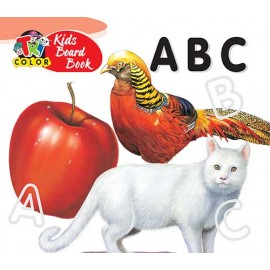 Tricolor Kids Board Book ABC