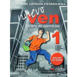 Nuevo Ven Libro Ejercicios 1 Textbook of Spanish by Edelsa
