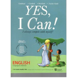 Yes I Can English for Class 4 ( Set of 2 Books)