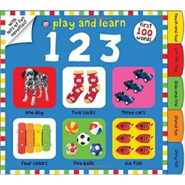 Play and Learn 123 by Priddy Books by Roger Priddy