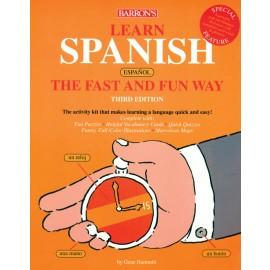 Barron's Learn Spanish Fast & Fun Way (With 4CDs)