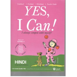 Yes I Can Hindi for Class 4 (Set of 2 Books)