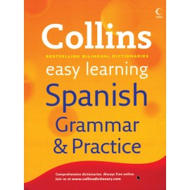 Easy Learning Spanish Grammar & Practice by Collins