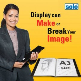 Solo Display File A3-20 Pockets (DF501)