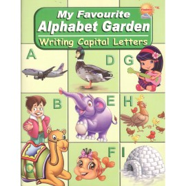 Padma My Favourite Alphabet Garden Writing Capital Letters (P-033)
