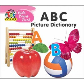 Tricolour Kids Board Book ABC Picture Dictionary