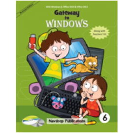 Navdeep Gateway to Windows Textbook for Class 6
