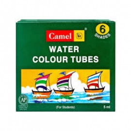 Camlin Kokuyo Student Water Colour Tubes 6 Shades (5ml)