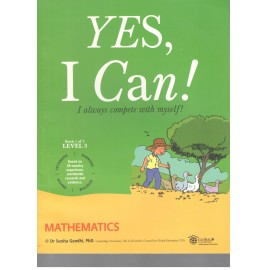 Yes I Can Mathematic for Class 3 (Set of 2 Books)
