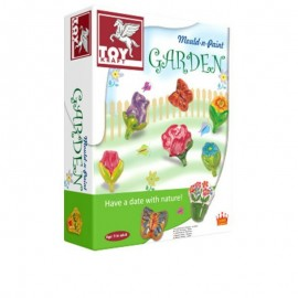 Toy Kraft Mould & Paint - Garden