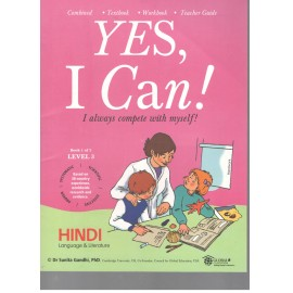 Yes I Can Hindi for Class 3 (Set of 2 Books)