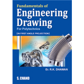 S Chand Fundamentals of Engineering Drawing by Er. RK Dhawan
